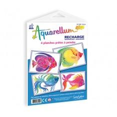Refill - Aquarellum Junior Poissons