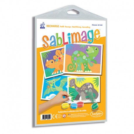 Recharge Sablimage Dinosaures