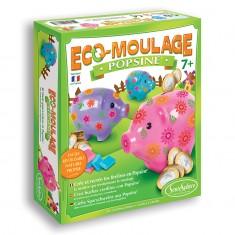 Eco-moulage Popsine - Les Cochons Dodus