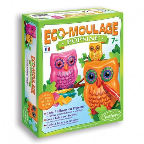 Eco-moulage Popsine - Les Hiboux Rigolos