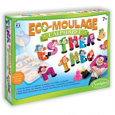 Eco-moulage Popsine - L'Alphabet