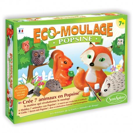 Eco-moulage Popsine - Les Animaux de la Forêt