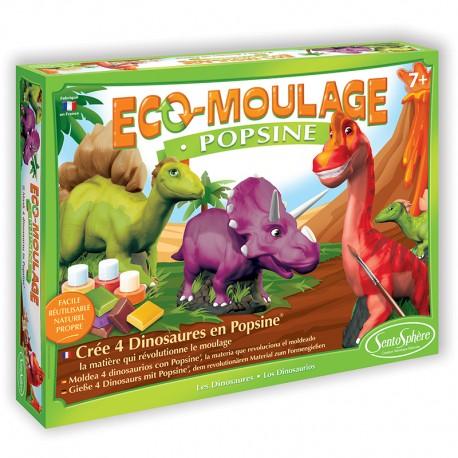 Eco-moulage Popsine - Les Dinosaures