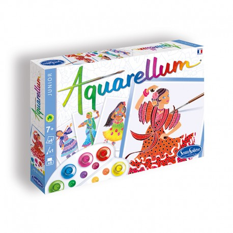Aquarellum Junior Danseuses Folkloriques