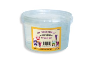 Pot de 400 ml de gel cristal