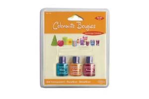 Blister de 3 Colorants pour bougies Bleu, Jaune et Rouge