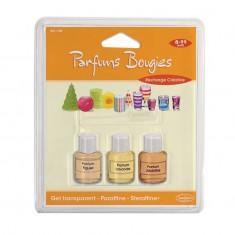 Blister de 3 Parfums pour bougies Figuier, Lavande et Jacinthe