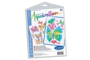 Recharge Aquarellum Junior Papillons et Fleurs