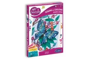 Art & Créations  Sequins & Couleurs - Papillons