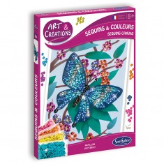 Sequins & Couleurs - Papillons