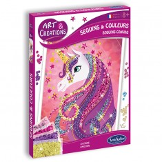 Sequins & Couleurs - Licorne