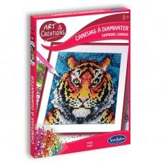 Canevas à Diamanter - Tigre