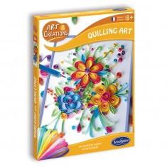 Quilling Art - Au Coeur des Fleurs