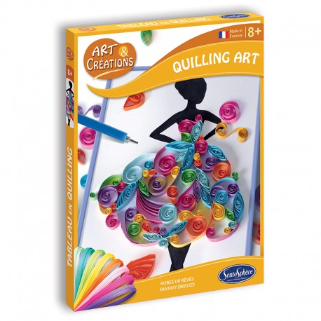 Art & Créations Quilling Art - Robes de Rêve