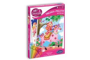 Art & Créations Tableaux à Pailleter - Contes de Fées